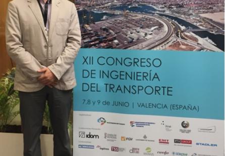 Docente  investigador asiste a congreso en Valencia – España